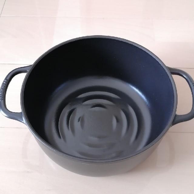 Vermicular(バーミキュラ)の【美品】バーミキュラ ライスポット 5合 スマホ/家電/カメラの調理家電(炊飯器)の商品写真