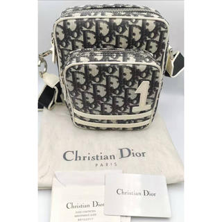 クリスチャンディオール(Christian Dior)のChristian Dior  ショルダー バッグ  トロッター ブルー(ショルダーバッグ)