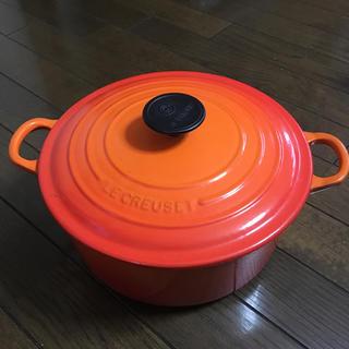 ルクルーゼ(LE CREUSET)のル・クルーゼ 鍋 24cm(鍋/フライパン)