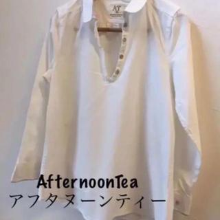 AfternoonTea - → アフタヌーンティー*M*シャツ ブラウス リバティー コットン ナチュラル