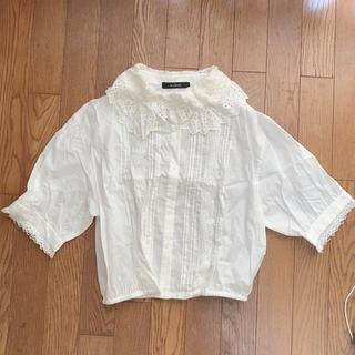 ダブルクローゼット(w closet)のWcloset 新品 ブラウス(シャツ/ブラウス(半袖/袖なし))