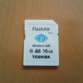 東芝 - 東芝 FlashAir フラッシュエアー 16G