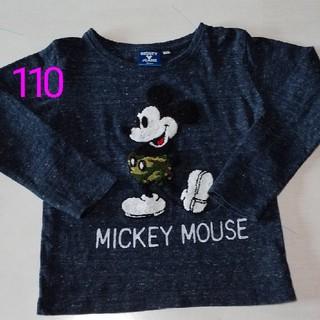 Disney - ディズニー 110 ミッキーマウス 長袖