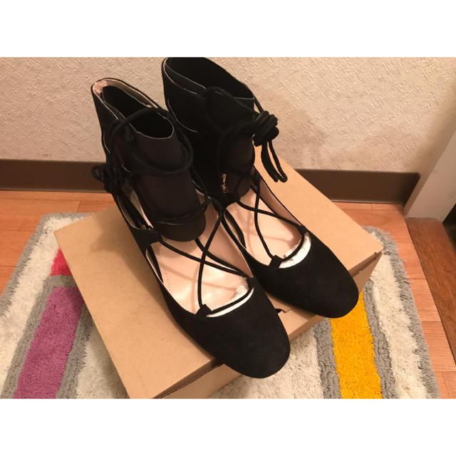 ZARA(ザラ)のzara★レースアップヒール レディースの靴/シューズ(ハイヒール/パンプス)の商品写真