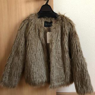アーバンリサーチ(URBAN RESEARCH)のkanasachi様専用 フェイクファーコート(毛皮/ファーコート)