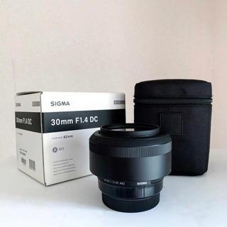 SIGMA - CANON 30mm F1.4 Art