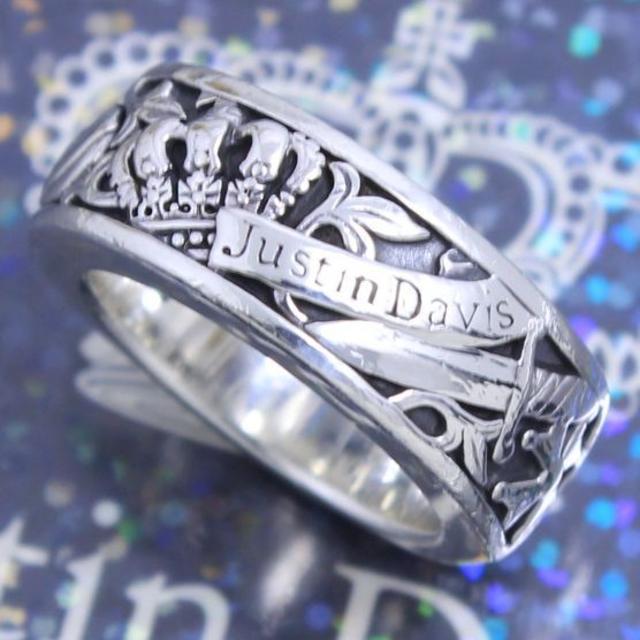 Justin Davis(ジャスティンデイビス)のジャスティンデイビス 7号 ホーリーサクラメントリング 定番 人気 レディースのアクセサリー(リング(指輪))の商品写真