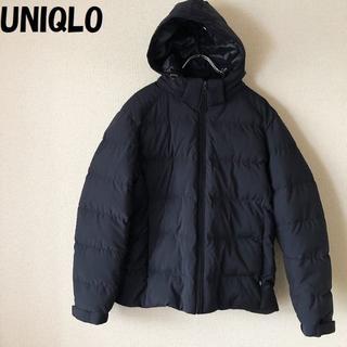 UNIQLO - 【人気】UNIQLO/ユニクロ フードジップアップ ダウンジャケット サイズM