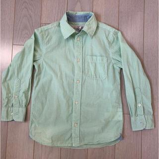 エイチアンドエム(H&M)のH&M☆チェックシャツ 120cm(ブラウス)