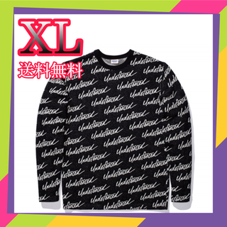 UNDEFEATED - UNDEFEATED JACQUARD L/S TOP アンディー ニット XL