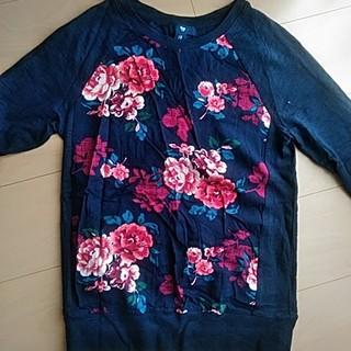 ギャップ(GAP)の新品  Gapの花柄 長T袖(Tシャツ(長袖/七分))