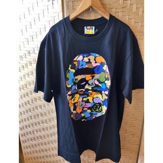 A BATHING APE - 新作★ BAPE Multi Camo Tシャツ アベイシングエイプ 黒