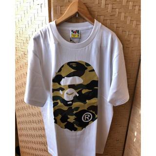 A BATHING APE - BAPE Big Ape Head Tシャツ 迷彩 アベイシングエイプ