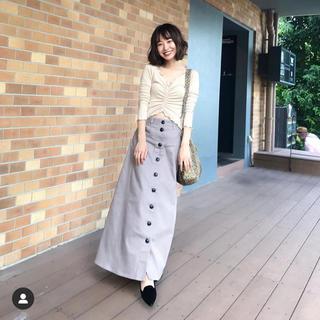 Cherie Mona - cherie mona フロントボタン デニムスカート