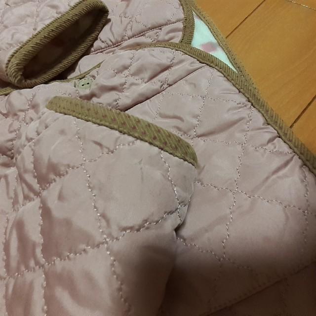 3can4on(サンカンシオン)のキルティング ジャケット 140 キッズ/ベビー/マタニティのキッズ服 女の子用(90cm~)(ジャケット/上着)の商品写真