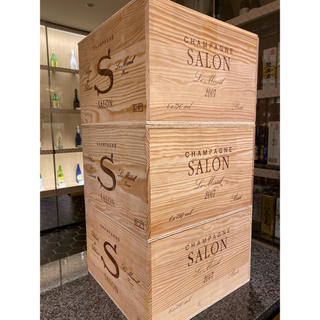 [ワイン 木箱三箱]サロン 三箱セット 訳あり