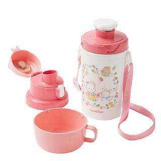 familiar - ファミリア 水筒  ピンク 新品 ふぁみちゃん りあちゃん 現行品