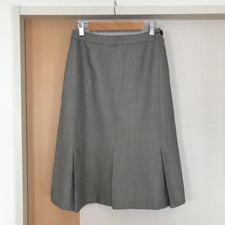 ニューヨーカー(NEWYORKER)の【ニューヨーカー】ひざ丈 プリーツ スカート(ひざ丈スカート)