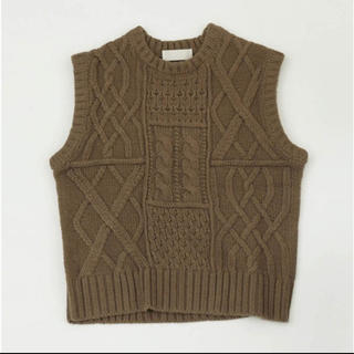 TODAYFUL - todayful lifes  CABLE KNIT BEST  ベスト