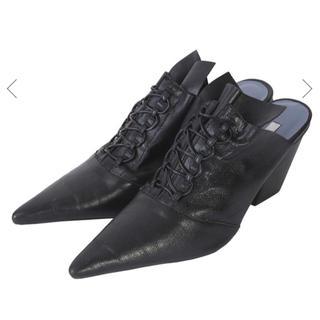 アメリヴィンテージ(Ameri VINTAGE)のAMERI アメリヴィンテージ ブーティー ブラック Sサイズ(ブーツ)