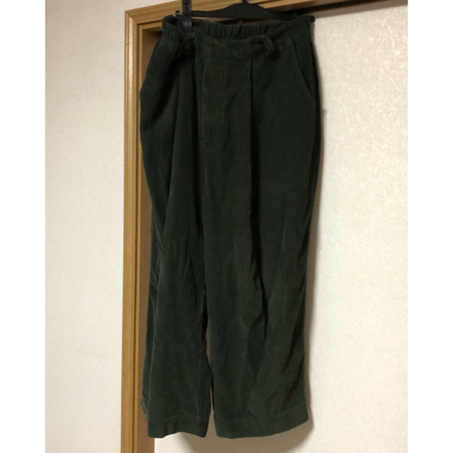 badhiya corduroy setup 17aw カーキ メンズのジャケット/アウター(ステンカラーコート)の商品写真
