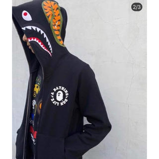 A BATHING APE - Bape Big Sean Hoodie sz M Shark Full Zip