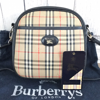 BURBERRY - 美品 Burberryバーバリー ノバチェック ショルダーバッグ