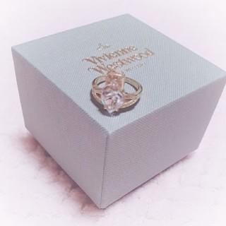 ヴィヴィアンウエストウッド(Vivienne Westwood)のヴィヴィアン ハートストーンリング(リング(指輪))