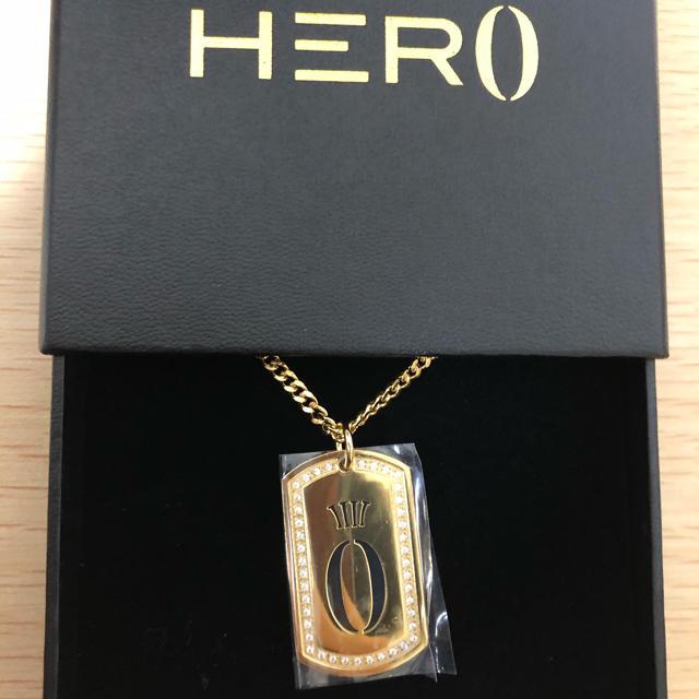 HERAxHERO ペンダント ゴールドネックレス ヘラヒーロー 18金 スポーツ/アウトドアのトレーニング/エクササイズ(その他)の商品写真