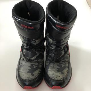 ムーンスター(MOONSTAR )のムーンスター スパイク付き ブーツ 19.0cm スーパースター(ブーツ)