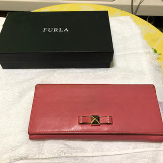 Furla - フルラ ピンク 長財布
