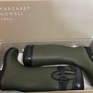 マーガレットハウエル(MARGARET HOWELL)のマーガレットハウエル レインブーツ未使用(レインブーツ/長靴)