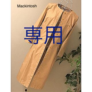 マッキントッシュフィロソフィー(MACKINTOSH PHILOSOPHY)のマッキントッシュのスプリングコート美品(スプリングコート)