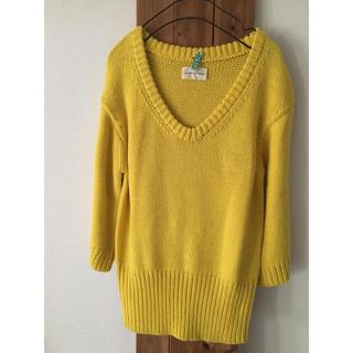 ツモリチサト(TSUMORI CHISATO)のツモリチサト セーター  ニット黄色(ニット/セーター)