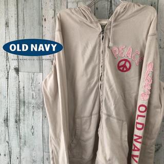 オールドネイビー(Old Navy)の★old navy★オールドネイビー 刺繍ジップアップパーカー(パーカー)