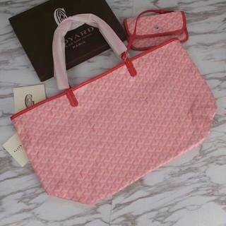 GOYARD - ゴヤール SAINT LOUIS トートバッグ ピンク PMサイズ