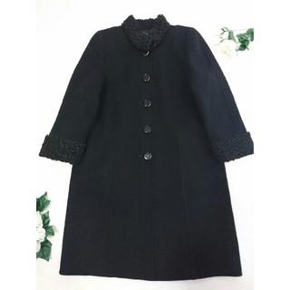 leilian - レリアン 美品 25万 高級コート カシミヤ ラムファー*フォクシー