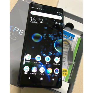 SONY - Xperia XZ3 801SO ソフトバンク 超美品 ソニー SONY