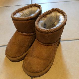 プティマイン(petit main)のたみき様専用  プティマイン ムートンブーツ 15cm(ブーツ)