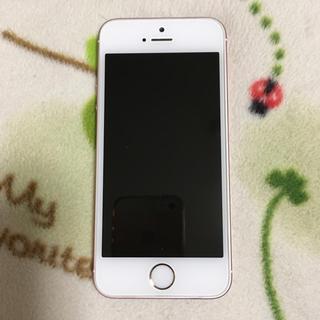 iPhone - ジャンク iPhone SE 64GB ローズゴールド
