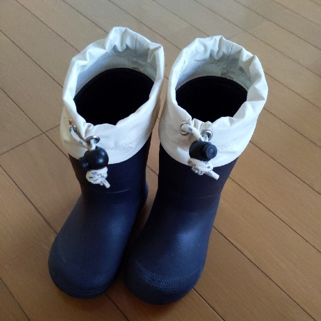 MUJI (無印良品)(ムジルシリョウヒン)のさゆママ様 専用 無印良品 レインブーツ 15-16センチ キッズ/ベビー/マタニティのキッズ靴/シューズ (15cm~)(長靴/レインシューズ)の商品写真