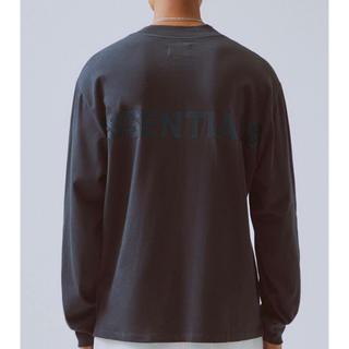 FEAR OF GOD - 【新品 Mサイズ】黒/黒 fog essentials boxy T-shirt