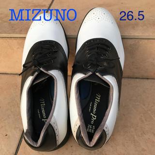 ミズノ(MIZUNO)のMIZUNO  ゴルフ シューズ 26.5センチ EEE メンズ(シューズ)
