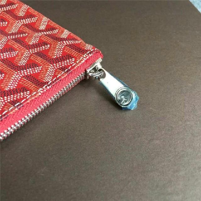 GOYARD(ゴヤール)のゴヤール MM レッド クラッチバッグ レディースのバッグ(クラッチバッグ)の商品写真