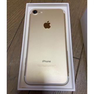 iPhone - 【iPhone7 ゴールド 128GB】SIMフリー