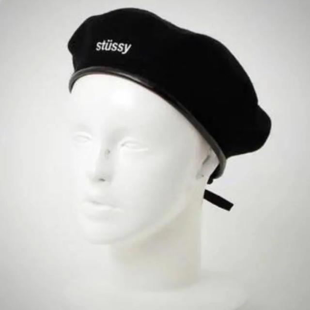 STUSSY(ステューシー)のステューシー ベレー帽 レディースの帽子(ハンチング/ベレー帽)の商品写真