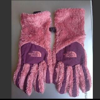 ザノースフェイス(THE NORTH FACE)のTHE NORTH FACE 手袋 ピンク(手袋)