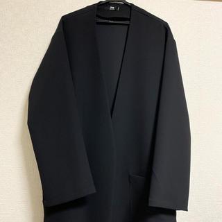 HARE - HARE TRノーカラーコート