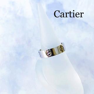 カルティエ(Cartier)のCartier  / ラブリング #56 16号 750刻印 K18WG(リング(指輪))