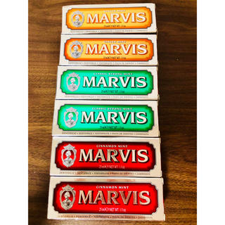 マービス(MARVIS)のマービス 6個(歯磨き粉)